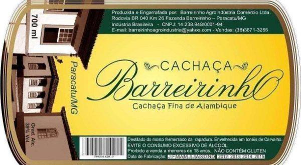 Cachaça Barreirinho