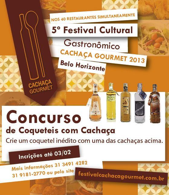 Concurso Coquetéis com Cachaça